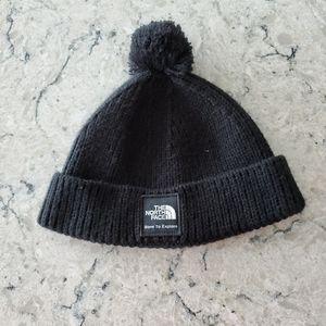 North Face kids winter hat